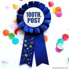 100th-post blue ribbon